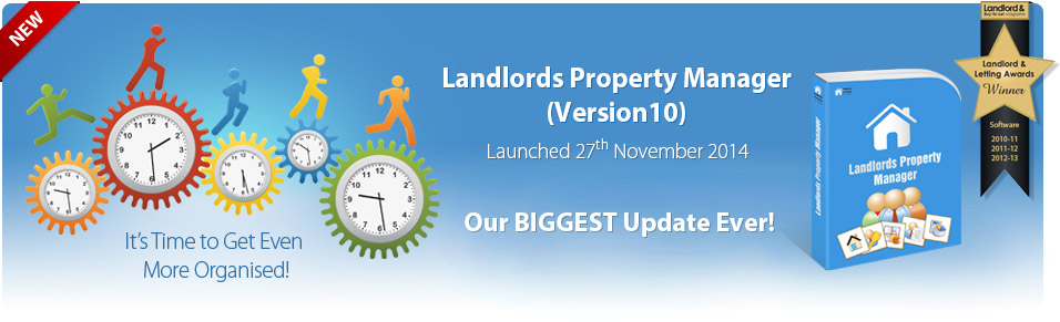 Upgrade to Landlord Property Manager Version 10
